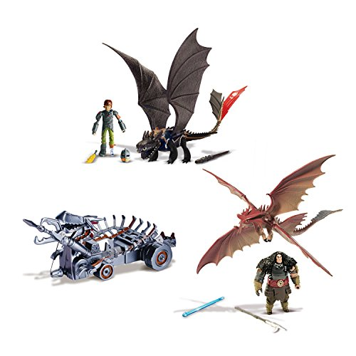 Dragons 6023190 - Power Dragon Attack Set