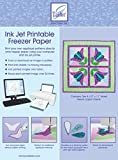 June Tailor Ink Jet Printable Freezer Paper 8.5-Inch by 11-Inch (Pack of 10)