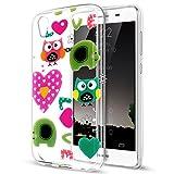 Coque Huawei Y6 II, Étui Huawei Y6 II, Huawei Y6 II Case, ikasus® Coque...