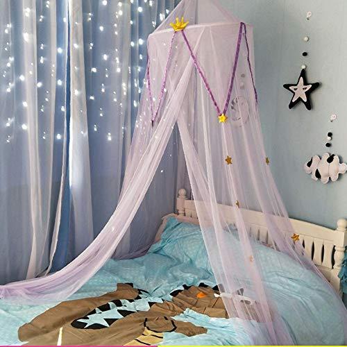 - Kuppel (Pepional Moskitonetz für Bett, für kleine Prinzessin Anti Mosquito Baldachin Kinder Bett Kuppel Betthimmel Moskitonetz Spiel Zelt Gut für Baby Ankleidezimmer Innen im Freienspiel Lese Schlafzimmer)