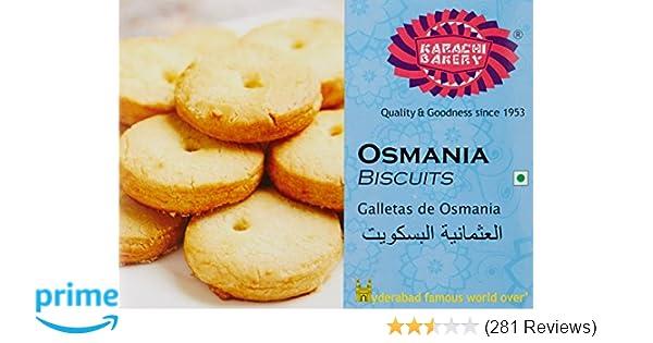 Karachi Bakery Osmania Biscuits, 400g: Amazon.in: Grocery & Gourmet Foods