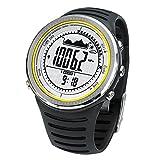 Docooler Montre Multifonction Etanche Altimètre Boussole Chronomètre Pêche Baromètre Pédomètre...