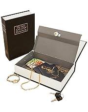 Iktu Jumbo XXL Book Style Locker Home Safe Box (26.5x20x6.5 cm, Random Colour)