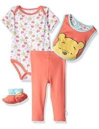 Disney Baby Girls Winnie the Pooh 3-Piece Cardigan