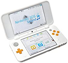 Nintendo New 2DS XL Weiß/Orange (2DS)