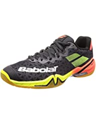 Babolat Shadow Tour 2019 Badmintonschuhe schwarz/rot/gelb 30S1801-296