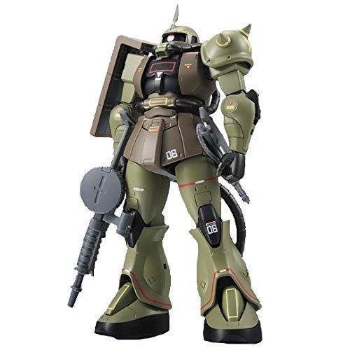 Bandai - Figurine The Robot Spirit - Tamashii Nations World Tour Exclusives Side MS Ms-06 Zaku II Mass Production Model Ver. ANIME - 4549660161592 (Tamashii Nations Robot Bandai)
