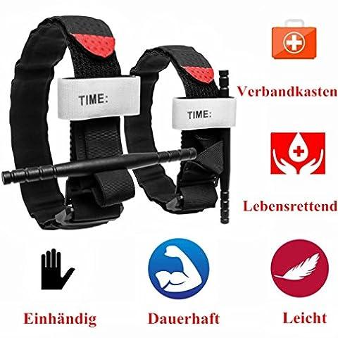 2pcs Tourniquet / TQ, Erste Hilfe Kit CAT Klon für Kampf Taktische Armee Anwendung Professionelle Verwendung für Blutverlust Kontrolle