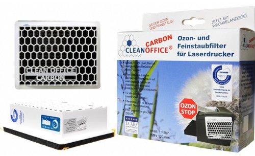 Preisvergleich Produktbild Carbon Feinstaubfilter für Drucker,  Laserdrucker,  Fax und Kopierer,  Druckerfilter,  Filtert auch Ozon