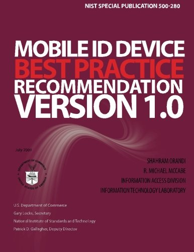 Mobile ID Device Best Practice Recommendation Version 1.0 por National Institute of Standards and Technology