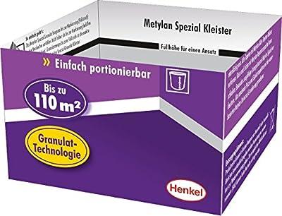 Metylan MS8G Spezial Kleister, portionierbares Granulat für Struktur, Präge, schwere Papier, Vinyl-Tapeten und Raufaser von Henkel auf TapetenShop