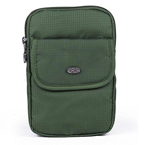 BUSL fanny Wandern Pack 6.8-Zoll-Outdoor-Multifunktions-Handy-Paket Taschen weibliche Reise Schulter Messenger Bag Bewegung d