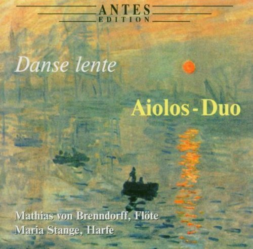 Preisvergleich Produktbild Danse Lente: Music for Flute and Harp by Mathias Von Brenndorff