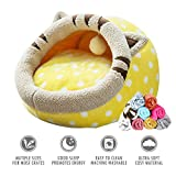 ubest Cat Bed with Blanket Comfort Cuddly Cave - Best Reviews Guide