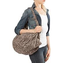 likemary - Bolso mochila  de Lona para mujer One Size