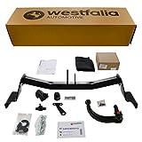 Westfalia Abnehmbare Anhängerkupplung für I 30 cw Kombi (BJ ab 06/2012) im Set mit 13-poligem fahrzeugspezifischen Elektrosatz
