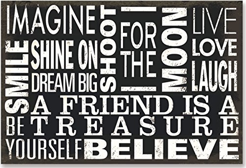 Subway Art Note Cards 'Believe' (Stationery, Boxed Cards)
