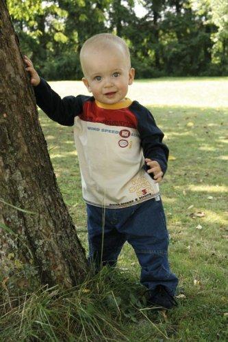 Gefütterte Jeans Baby Jungen Fb blau 412028 (68)