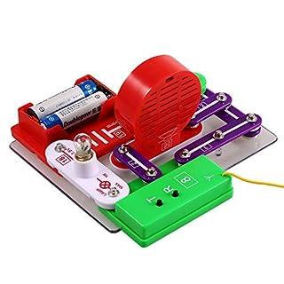 Arshiner elektro Baukasten W-39 Schaltkreise Experimente Elektronische Entdeckung Kit Erziehungswissenschaft Spielzeug