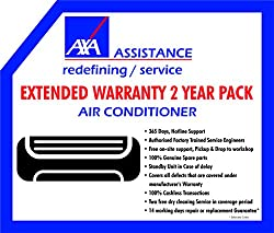 AXA 2 Years Extended Warranty for Air conditioner (Rs. 22001 - 30000)