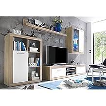 amazon.it: mobili soggiorno - Mobile Soggiorno Bianco Lucido