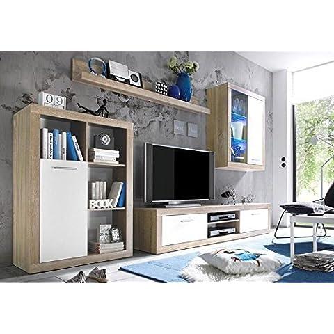 AVANTI TRENDSTORE - Mobile soggiorno in imitazione di quercia Sonoma