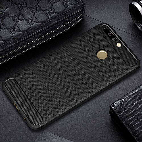 quality design eb2df e6719 Honor 8 Pro Back Cover [Chevron Authentic Case], Metallic Black by Chevron