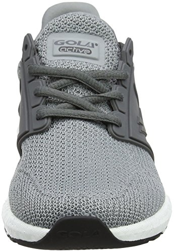 Gola X-Pand Fly, Scarpe Sportive Indoor Donna Grigio (Light Grey/mid Grey)