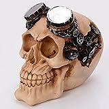 Schädel-Kopf, kreativer menschlicher Schädel-Kopf Knochen-Modus.