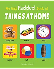 My First Padded Book of Things at Home Early Learning Padde