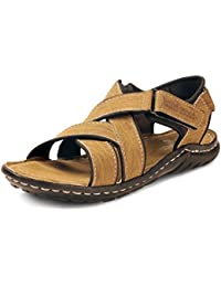 BACCA BUCCI MEN Tan Synthetic SANDALS