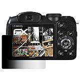 atFoliX Blickschutzfilter für Fujifilm FinePix S2980 Blickschutzfolie - FX-Undercover 4-Wege Sichtschutz Displayschutzfolie