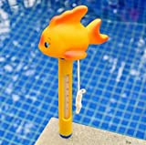 BIEE Floating Pool Thermometer Schildkröte, groß mit Schnur, für Outdoor / Indoor Schwimmbäder, Whirlpool, Spa, Jacuzzi und Teich