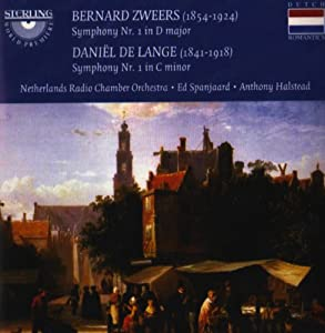 Zweers Symphony No.1 / De Lange Symphony No.1 from Sterling Records