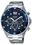 Best Chronograph Watches - Pulsar Men's Chronograph Quartz Watch with Stainless Steel Review