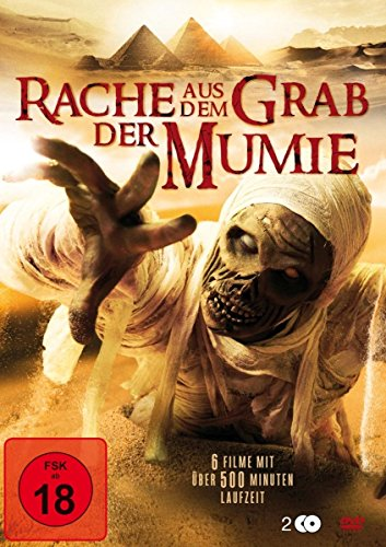 Rache aus dem Grab der Mumie Box - 6 Filme mit über 500 Minuten Laufzeit [2 DVDs]