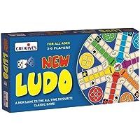 Creative's New Ludo Board Game (Multi-Color, 25 Pieces)