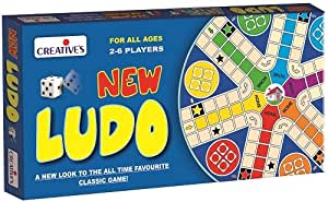 Creative Educational Aids 0816 New Ludo for 2 to 6 players