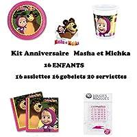 Amazon.it: masha e orso compleanno: Casa e cucina