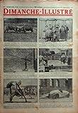 DIMANCHE ILLUSTRE N? 435 du 28-06-1931 EN SUISSE - LA CORRIDA PACIFIQUE DES VACHES DU VALAIS UN APPAREIL ELECTRIQUE POUR FERRER LE POISSON L'ENTRAINEMENT DES SAUVETEURS AUSTRALIENS EN ALLEMAGNE - L'AUTO MARCHAND A L'OXYGENE LIQUIDE DE GEORGES CLAUDE