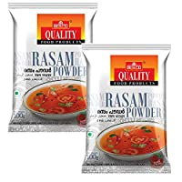 Quality Spices Rasam Powder Masala 100 Grams (Pack of 2)