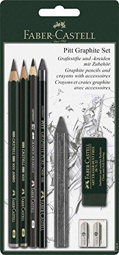 Preisvergleich Produktbild Faber-Castell 112997 Pitt Graphite Set mit Zubehör