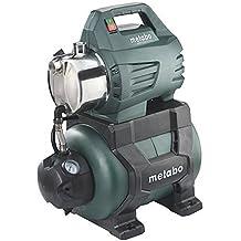 Metabo Hauswasserwerk HWW 4500/25 Inox, kraftvolle Hauswasserpumpe mit 1300 W, energiesparende Pumpe mit Überlastschutz, Fördermenge 4.500 l/h, 600972000