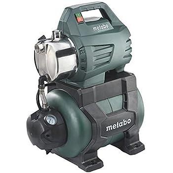 Metabo HWW 4500/25 Surpresseur en Inox/Pompe d'arrosage HWW 4500/25, 240 V, Vert