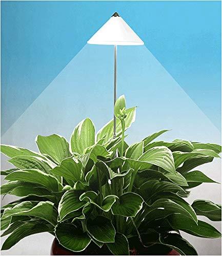 """LED Wachstumslampe fürs Zimmer""""weiß"""", 7 Watt Pflanzenleuchte Pflanzenlicht Licht für Pflanzen"""