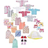 Baby Fly New Born Baby Gift Set Combo Pack of 7 Items for Newborn (0-8Months)