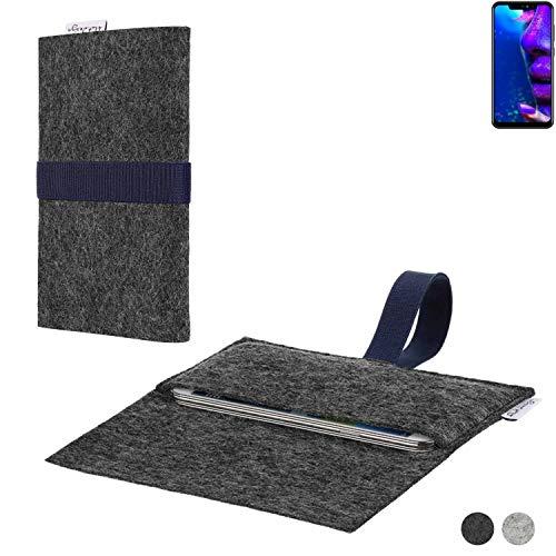 flat.design Handy Hülle Aveiro für Allview Soul X5 Pro passgenaue Filz Tasche Case Sleeve Made in Germany