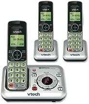 في تيك CS6429 DECT 6.0 هاتف لاسلكي 3 Cordless Handset with Digital Answering System