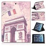 DONZO Wallet City Tablet Tasche für Apple iPad 5 iPad Air Mehrfarbig