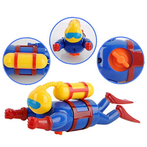 Kofun Swimmers Scuba Diver Spielzeug Wind Up Clockwork Sea Baby Bad Spielzeug Kinder Spielzeug Perfekte Weihnachten Geburtstag Spielzeug Geschenk für Kinder